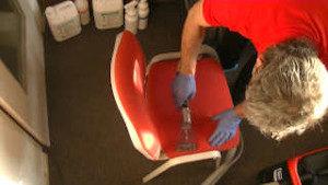 Technika prania krzesła